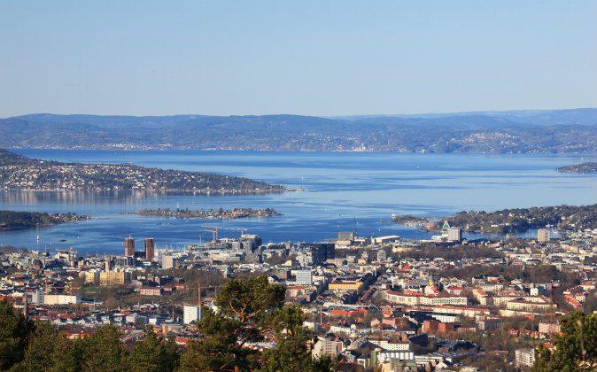 Oslofjord and Oslo center via Shutterstock*