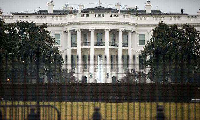 The South Lawn of the White House in Washington, D.C., on Jan. 26, 2015. (Pablo Martinez Monsivais/AP)