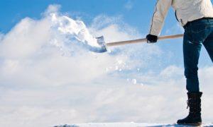 Dangers of Shoveling Snow