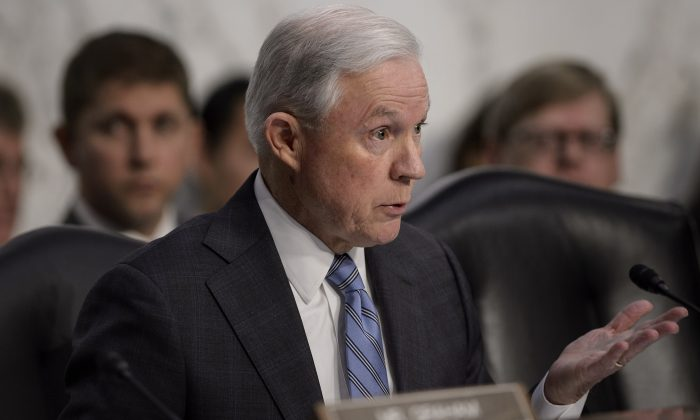 Senator Jeff Sessions (R-AL) in a file photo. (Brendan Smialowski/AFP/Getty Images)