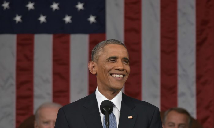 President Barack Obama pulled his proposal to tax college saving accounts less than a week after he made them at the State of the Union Address, show here on Jan. 20 in Washington, DC. (Mandel Ngan-Pool/Getty Images)