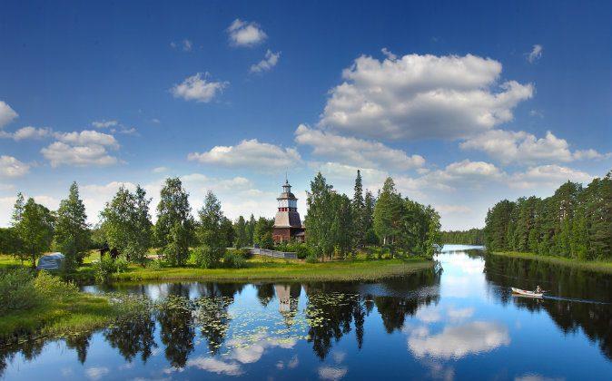 Petajavesi - Evangelical Lutheran Old Church, central Finland, UNESCO via Shutterstock*