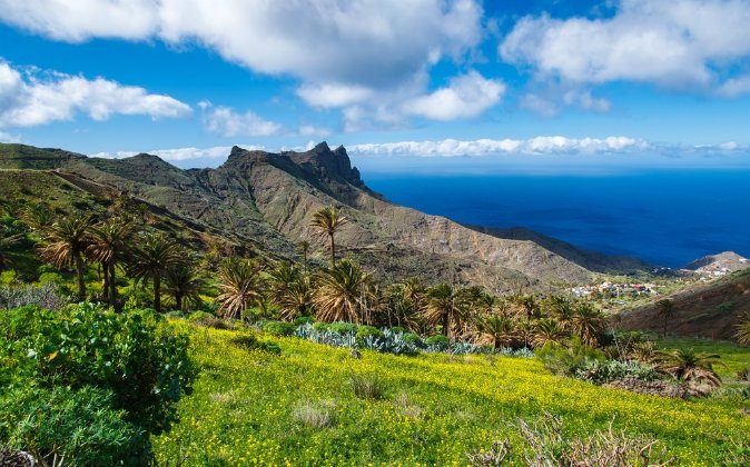 Alojera, La Gomera, Canary Islands via Shutterstock*