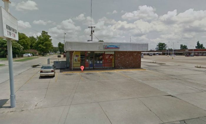 The Domino's Pizza chain in Blytheville, Arkansas (Google Maps)
