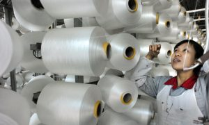China Manufacturing Activity Contracts in January