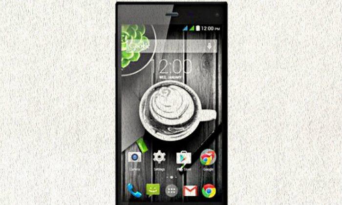 Gigabyte GSmart Guru GX smartphone. (Gigabyte)