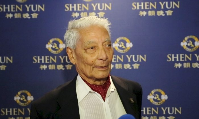 Indian Army Colonel: Shen Yun, 'See it a hundred times'