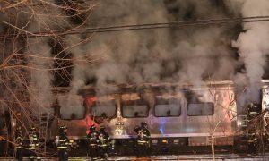 Metro-North Crash: Harlem Line Train Hits Car in Valhalla, on Fire (Photos, Video)