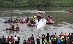 TransAsia Pilots Made Mayday Call Reporting Engine Flame