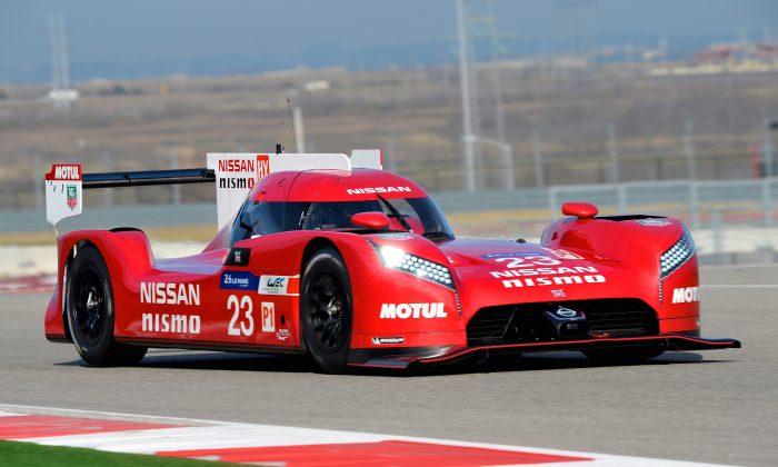 Nissan's revolutionary GT-R LM NISMO LMP1-H (NissanNews)