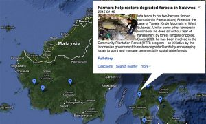 Communities Mapping Efforts for Forests in Indonesia