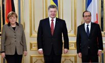 Ukraine President Pushes for Cease-Fire
