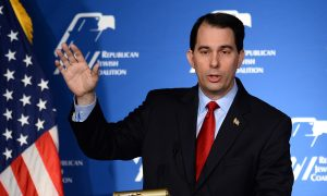 Scott Walker Polling Well in Key Primary States