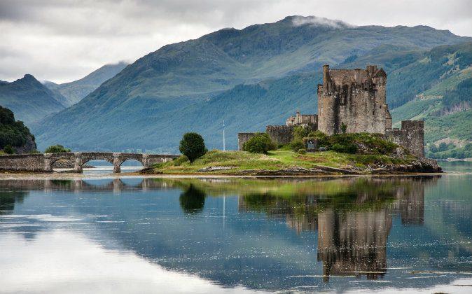 Eilean Donan Castle, Loch Duich, Scotland, UK via Shutterstock*