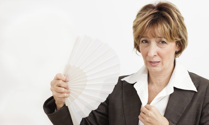 Researchers think moderate to severe hot flashes may have a link with reduced bone density. (Brankica Tekic/iStock/Thinkstock)