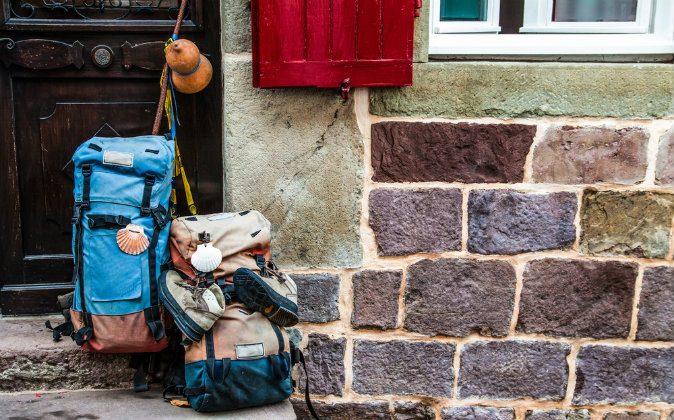 a hostel for pilgrims traveling to Santiago via Shutterstock*