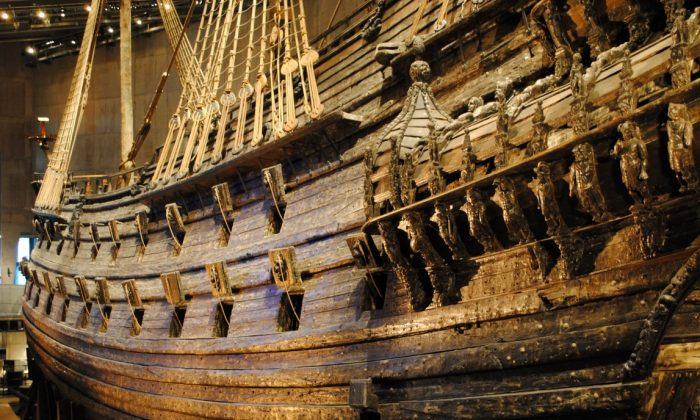 Vasa warship at Vasamuseet, the Vasa Museum in Stockholm, Sweden (Christian Eilers)