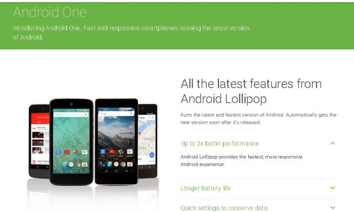 Android 5.1 Lollipop was released in Indonesia, apparently (Android website)