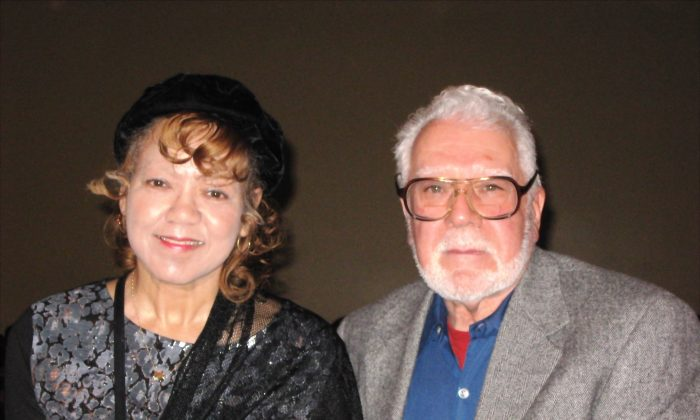 Mr. and Mrs. Tario after enjoying Shen Yun Performing Arts at the Detroit Opera House on Feb. 6, 2015. (Cat Rooney/Epoch Times)