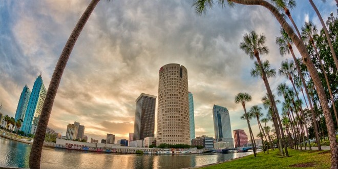 Tampa's downtown panorama is both scenic and ever-evolving. (Courtesy of Visit Tampa Bay)