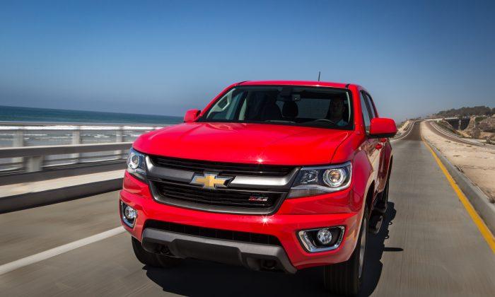 2015 Chevrolet Colorado (Courtesy of GM)