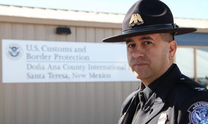 Santa Teresa Port of Entry Director Ray Provencio at the new Jetport customs inspection facility in Santa Teresa, NM, Friday, Nov. 7, 2014. (AP Photo/Juan Carlos Llorca)