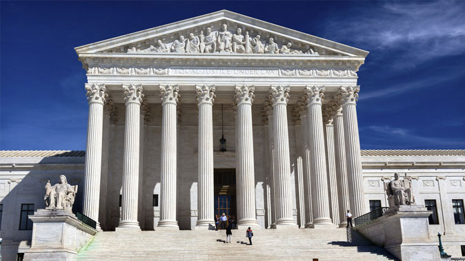 The U.S. Supreme Court on Capitol Hill in Washington, D.C., on Sept. 26, 2014. (Shutterstock*)