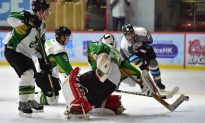 Aces Head Hockey League with Close Win Over Sharks
