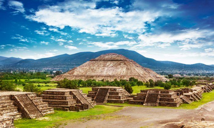Old ruins of Aztec civilization, Mexico via Shutterstock*