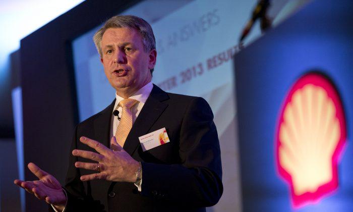 Royal Dutch Shell's CEO Ben van Beurden in London on Jan. 30, 2014. (AP Photo/Alastair Grant)