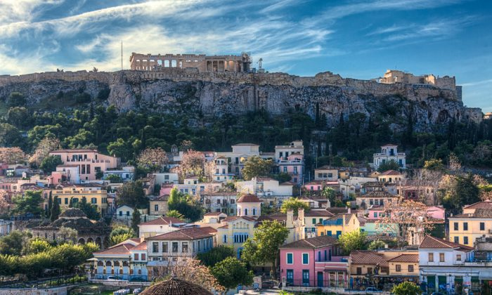 Acropolis in Athens,Greece via Shutterstock*