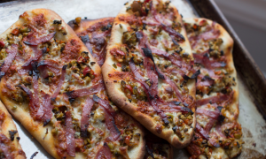 Rethinking Muffaletta as a Thin-Crust Pizza for Mardi Gras