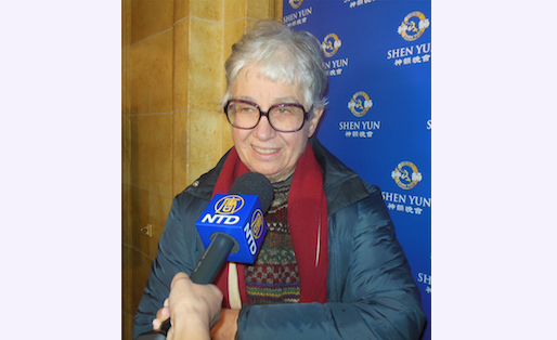 State Representative Phyllis Kahn attends Shen Yun Performing Arts at the Orpheum Theatre, Minneapolis, on Feb. 14, 2015. (Courtesy of NTD Television)