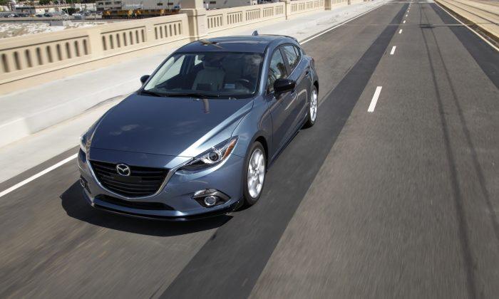 2015 Mazda3 (Courtesy of Mazda)