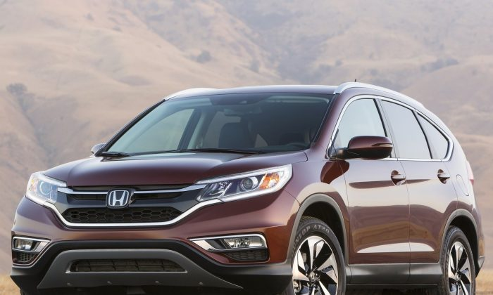 2015 Honda CR-V (Courtesy of NetCarShow.com)