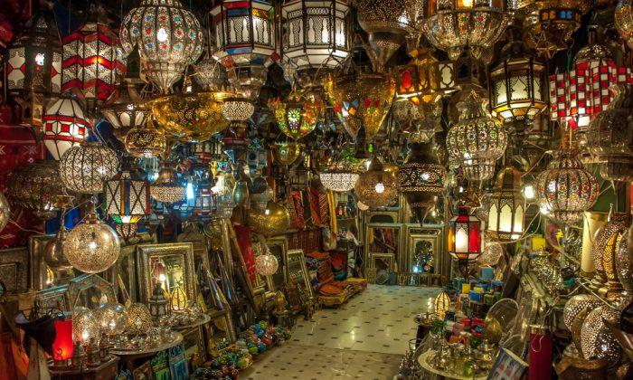 Moroccan antique lamps via Shutterstock*
