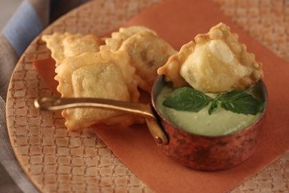 Ravioli Fritti. (Courtesy of Giovanni Rana Pastificio & Cucina)