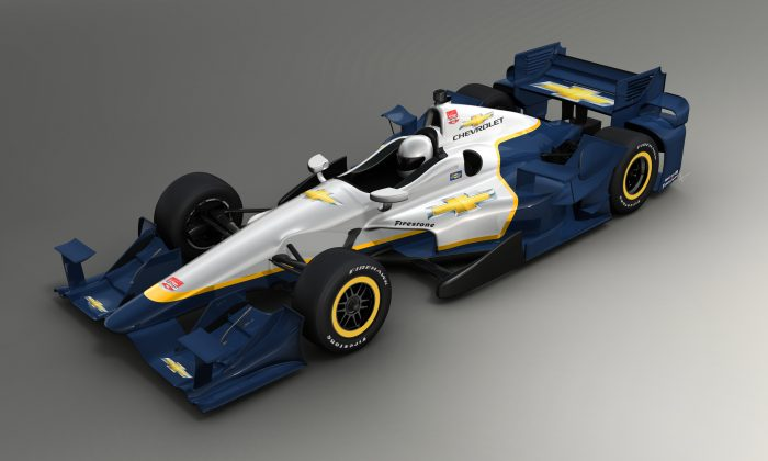 The 2015 Chevrolet IndyCar aerokit, first edition (indycar.com)
