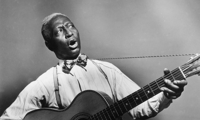 "Huddie ""Lead Belly"" Ledbetter. (Smithsonian Channel)"