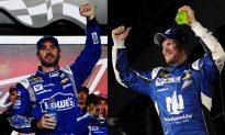 Dale Earnhardt, Jimmie Johnson Win NASCAR Duels at Daytona
