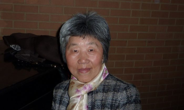 Ms. Tian on Feb. 13, 2015 in Philadelphia. Ms. Tian was once held in a hospital in China where she believes doctors were planning on harvesting her organs. (Friends of Falun Gong)