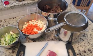 Welsh Lamb and Root Soup--a bone broth soup