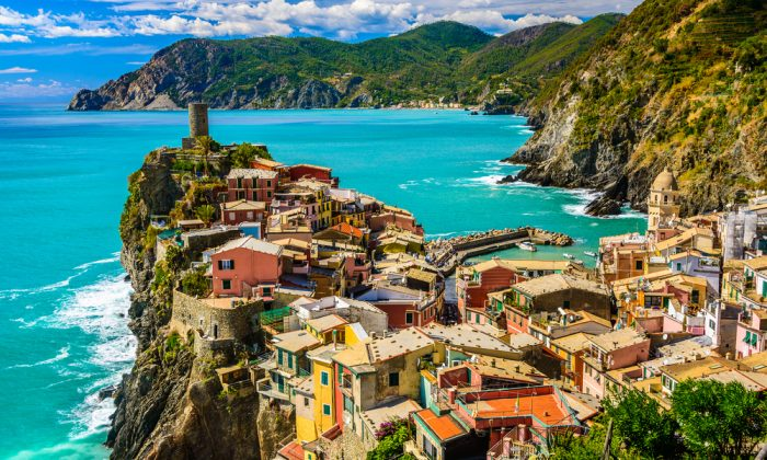 Vernazza, Cinque Terre Italy via Shutterstock*