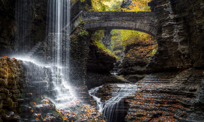Rainbow Falls via Shutterstock*