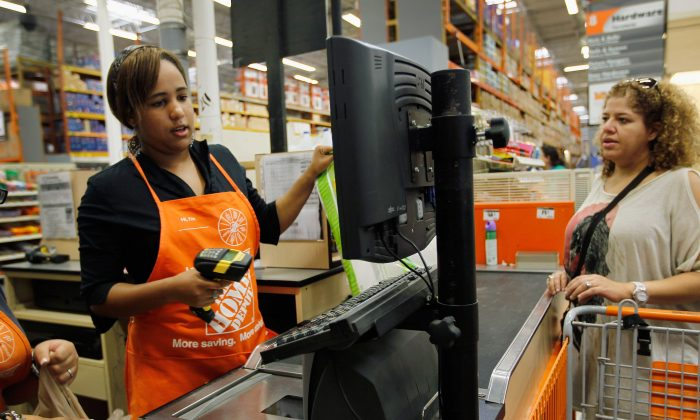 File photo of Home Depot in Miami. (Joe Raedle/Getty Images)