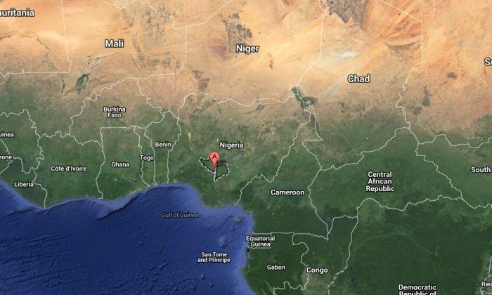 Rev. Phyllis Sortor, an American missionary, may have been abducted in Nigeria, according to reports. (Google Map)