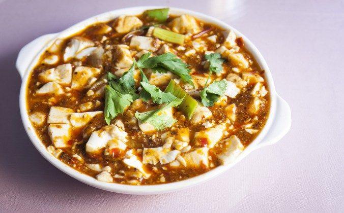 Ma Po tofu. (Samira Bouaou/Epoch Times)