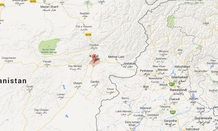 An explosion went off near the Iran Embassy in Kabul, Afghanistan, on Thursday (Google Maps)