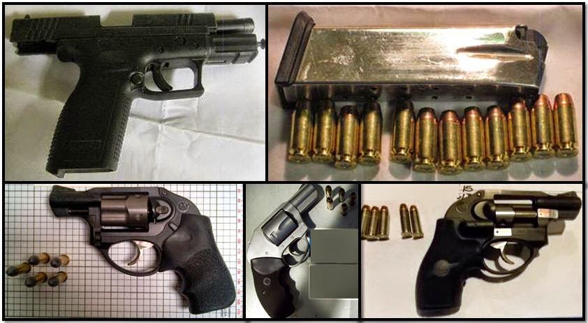 TSA confiscated firearms