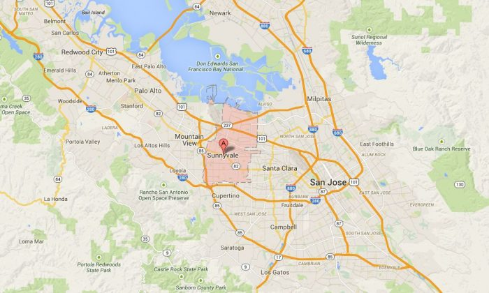 Several people were injured following an explosion in Sunnyvale, Calif., on Thursday afternoon. (Google Maps)